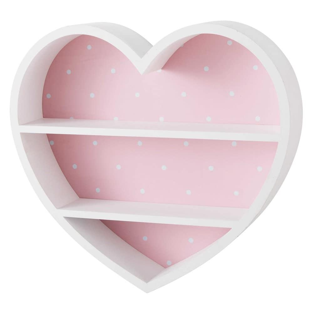 tag re c ur blanche et rose lilly maisons du monde. Black Bedroom Furniture Sets. Home Design Ideas