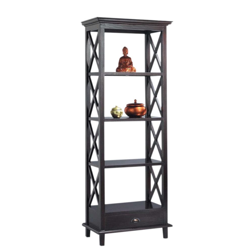 tag re colonne en mahogany massif l 69 cm acajou. Black Bedroom Furniture Sets. Home Design Ideas