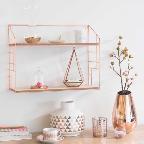 5 id es cadeaux d co rose gold pour les femmes tendances. Black Bedroom Furniture Sets. Home Design Ideas