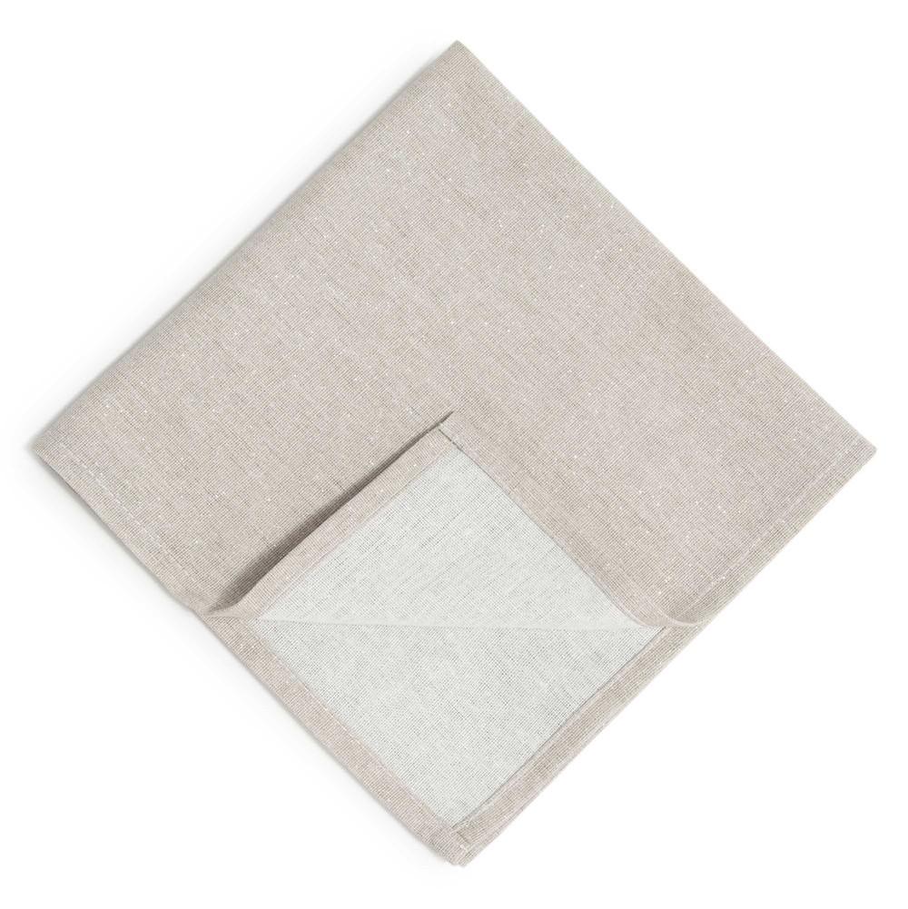 tincelle light grey glittery serviette 40 x 40 cm maisons du monde. Black Bedroom Furniture Sets. Home Design Ideas