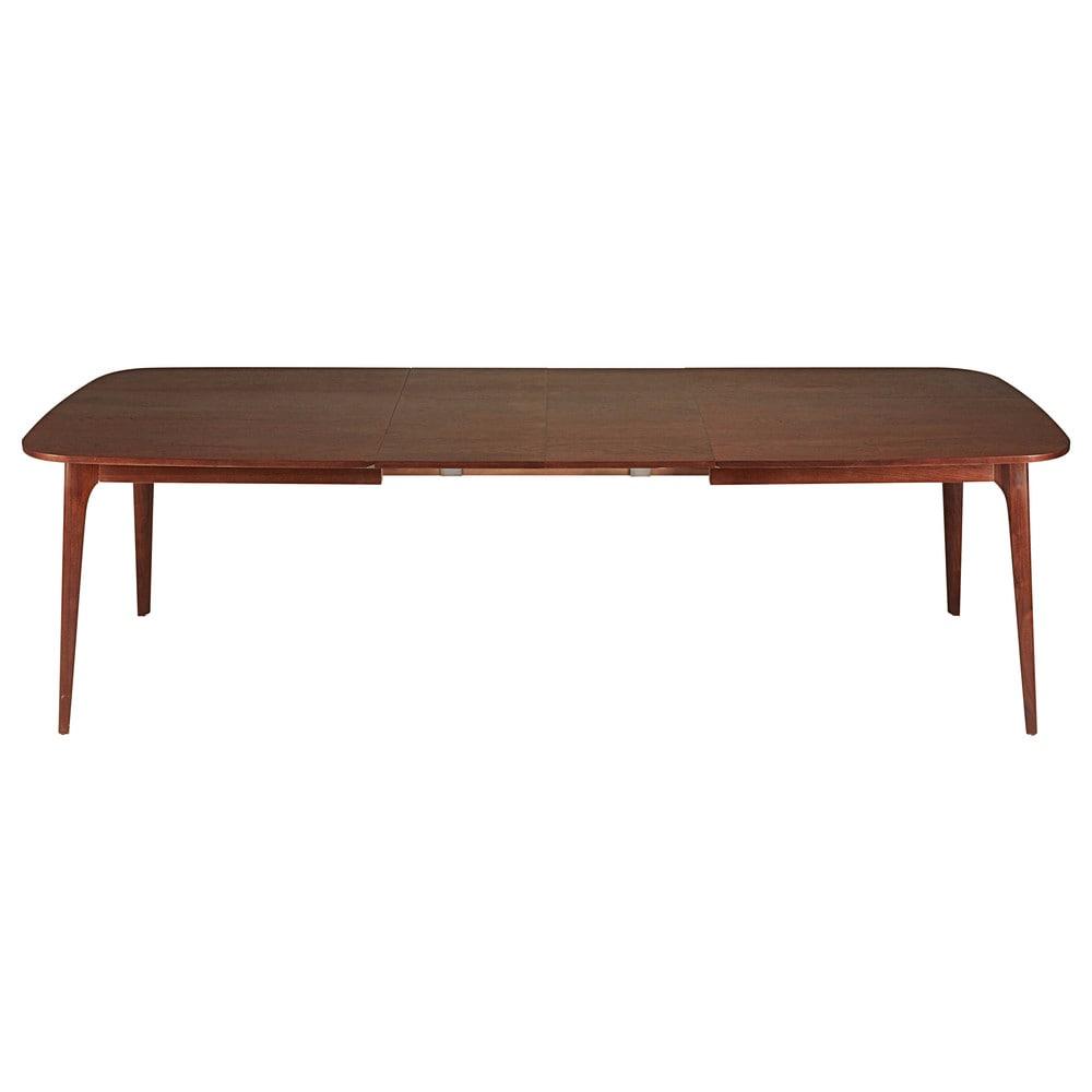 extendable solid walnut table l 180 cm buckingam maisons du monde. Black Bedroom Furniture Sets. Home Design Ideas