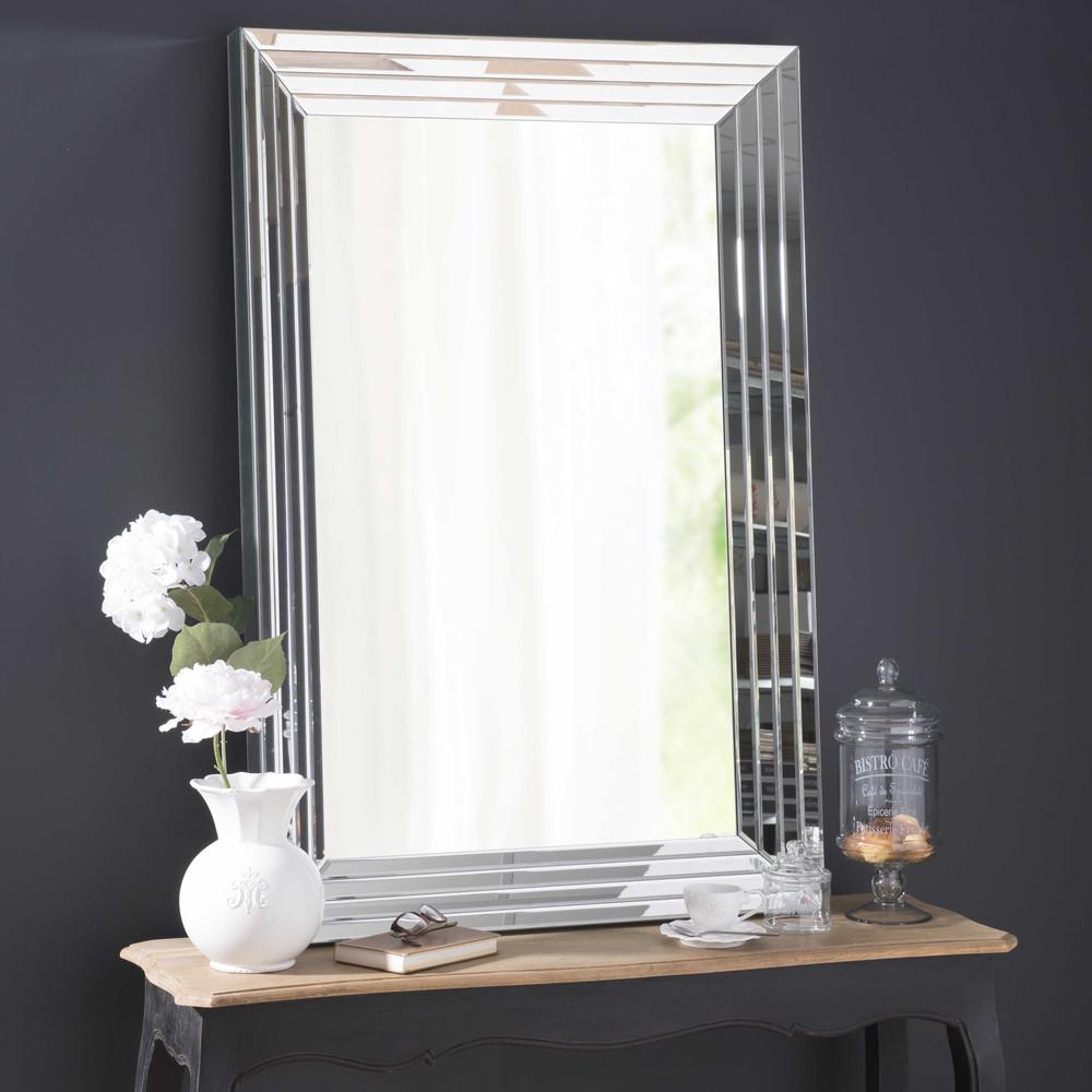 facettierter spiegel cristallin h 120 cm maisons du monde. Black Bedroom Furniture Sets. Home Design Ideas