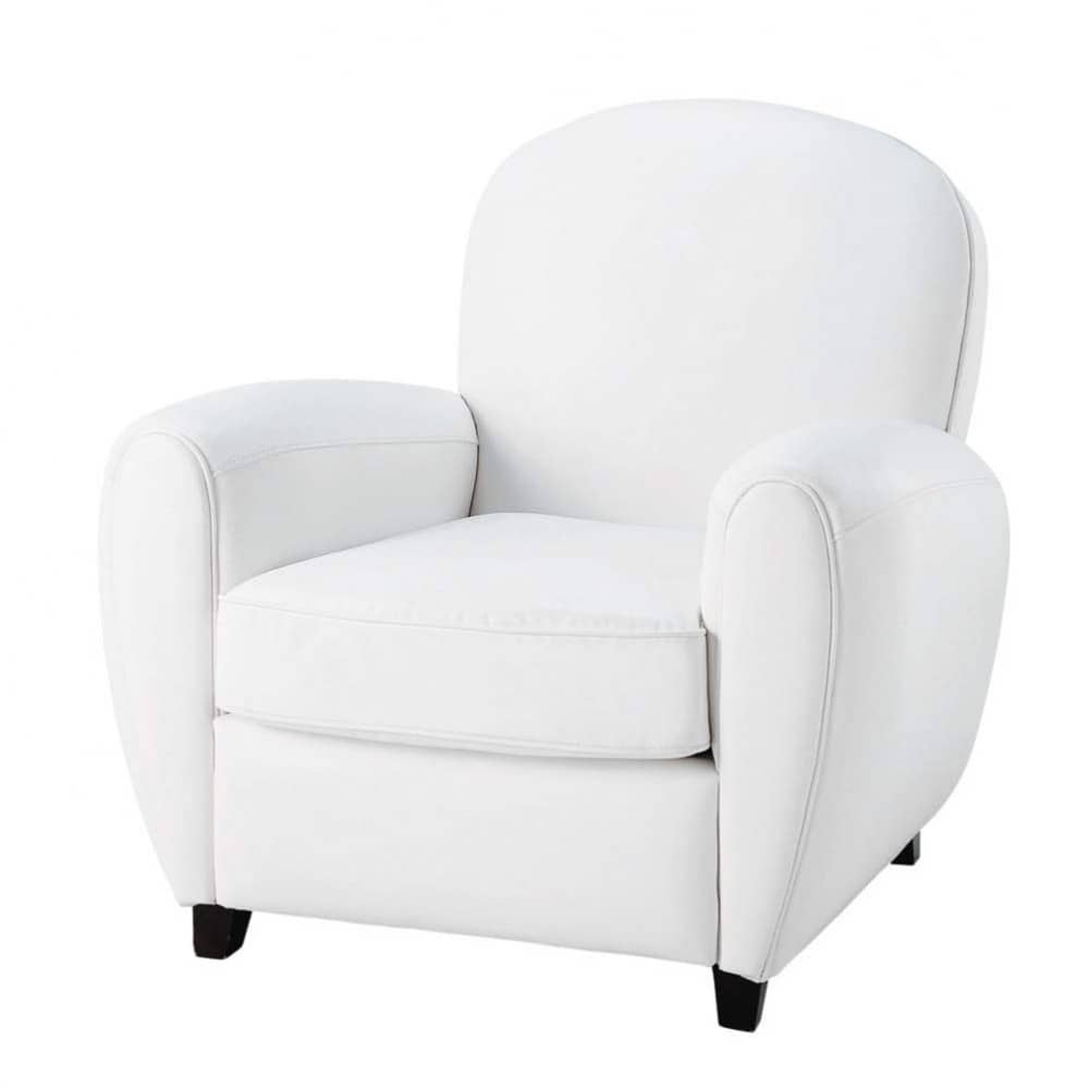fauteuil capitonne blanc maison design. Black Bedroom Furniture Sets. Home Design Ideas