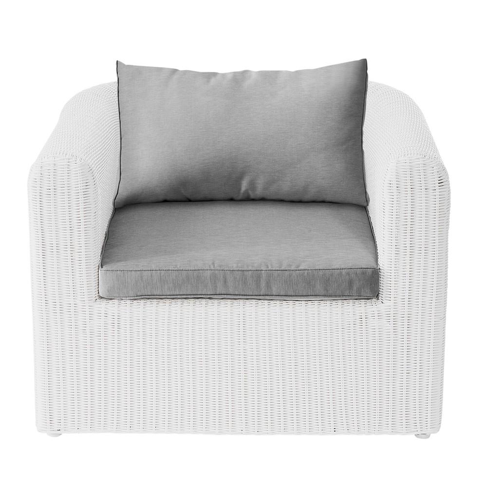 Fauteuil jardin r sine tress e fashion designs for Chaise blanche de salon