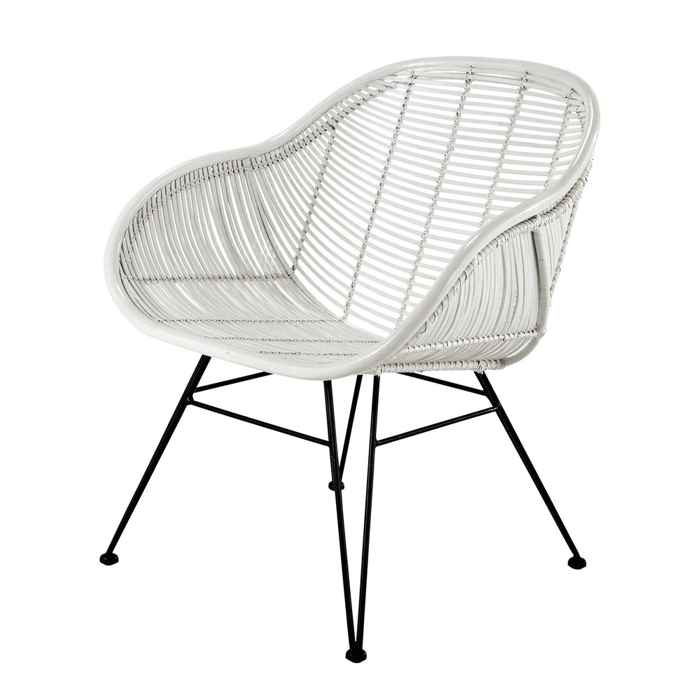 awesome chaise rotin maison du monde images design. Black Bedroom Furniture Sets. Home Design Ideas