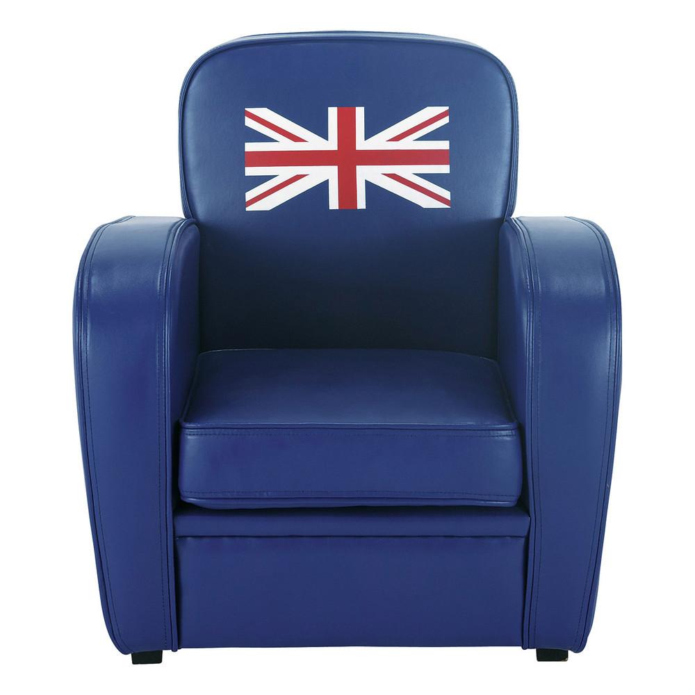 fauteuil enfant bleu britain maisons du monde. Black Bedroom Furniture Sets. Home Design Ideas