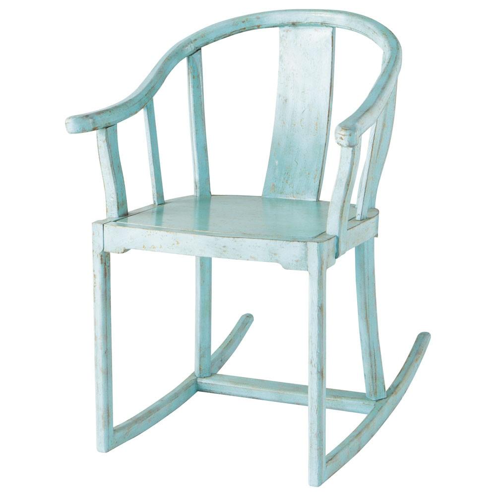fauteuil enfant bleu mao maisons du monde. Black Bedroom Furniture Sets. Home Design Ideas