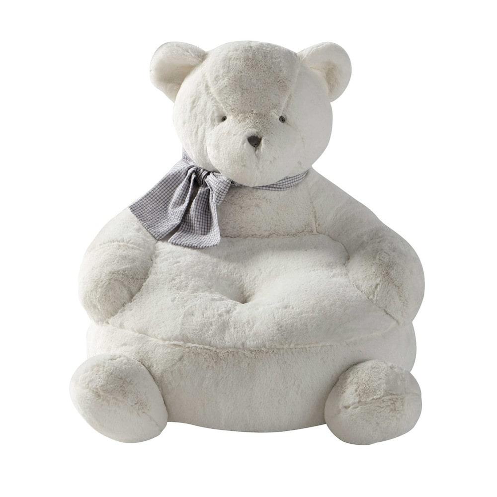 Fauteuil enfant ours h 42 cm gaspard maisons du monde - Fauteuil enfant maison du monde ...