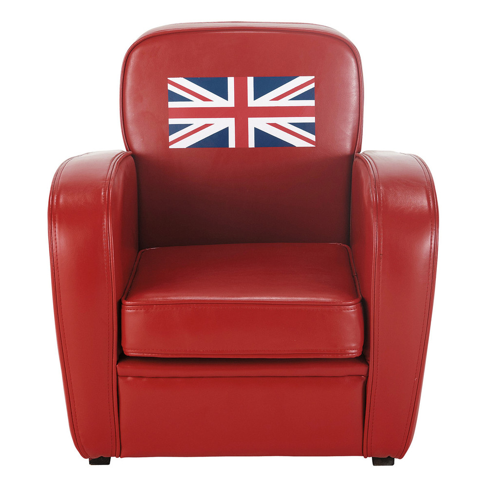 fauteuil enfant rouge britain maisons du monde. Black Bedroom Furniture Sets. Home Design Ideas