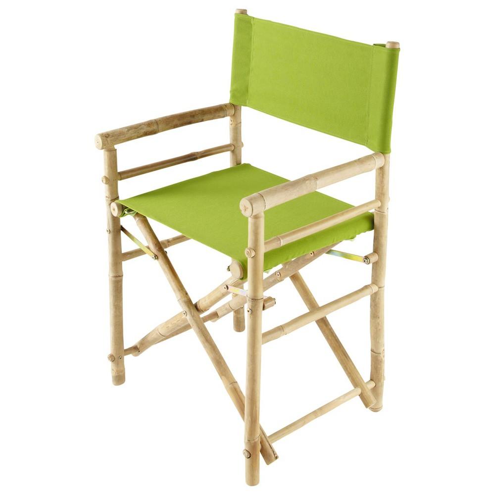 fauteuil pliant de jardin en bambou robinson maisons du. Black Bedroom Furniture Sets. Home Design Ideas