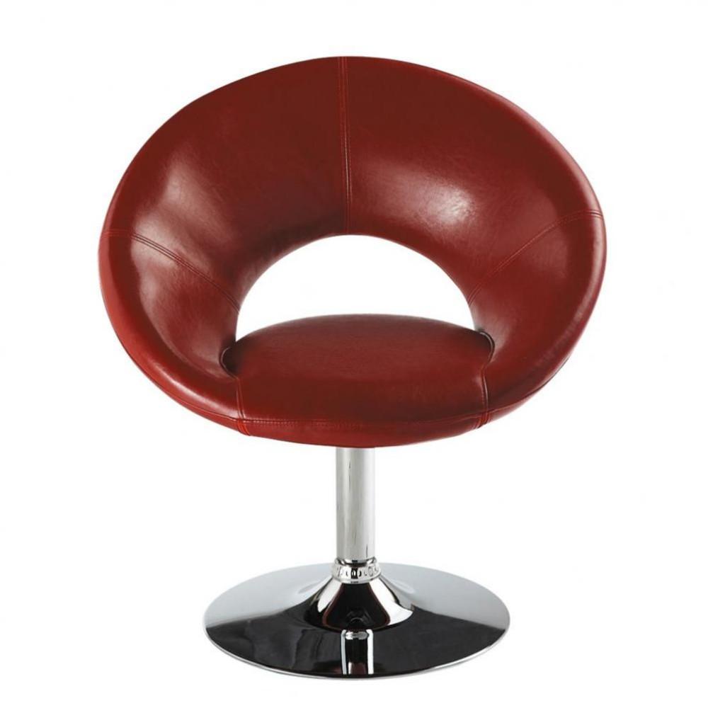 fauteuil rouge pop art maisons du monde. Black Bedroom Furniture Sets. Home Design Ideas