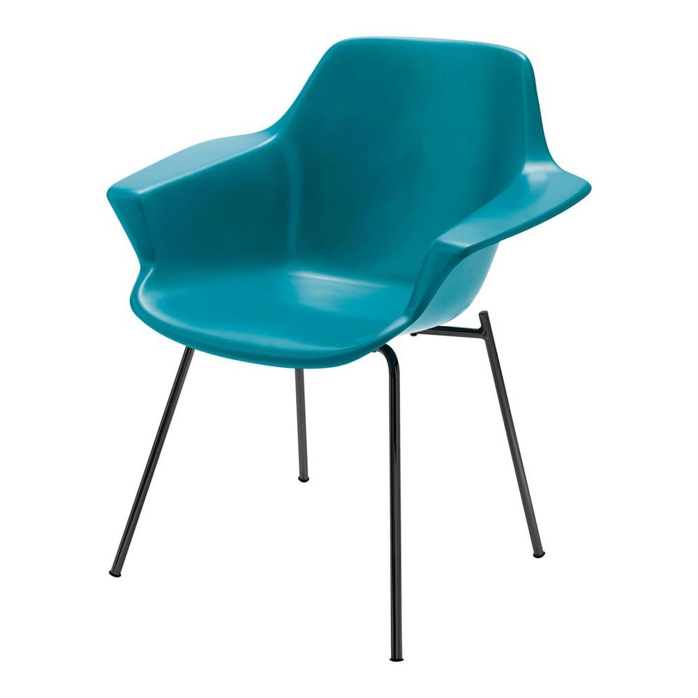 fauteuil vintage bleu canard guariche vampire maisons du monde. Black Bedroom Furniture Sets. Home Design Ideas
