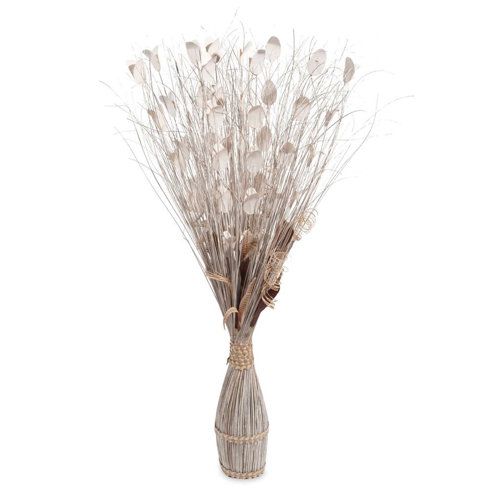 flores secas blancas alto cm ting ting