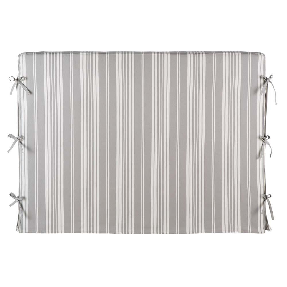 Fodera della testata letto a righe 140 cm dream dream - Fodera testata letto ...