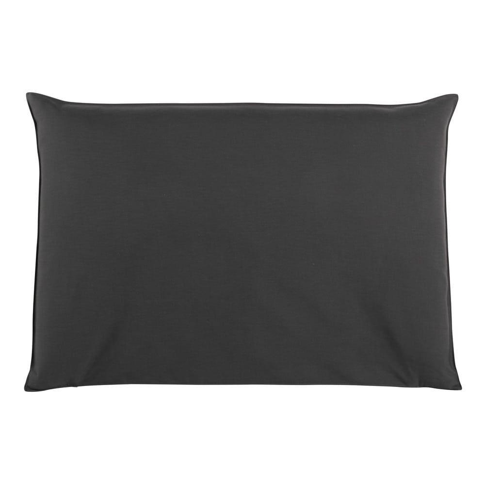 Fodera di testata da letto color antracite 160 cm soft - Fodera testata letto ...