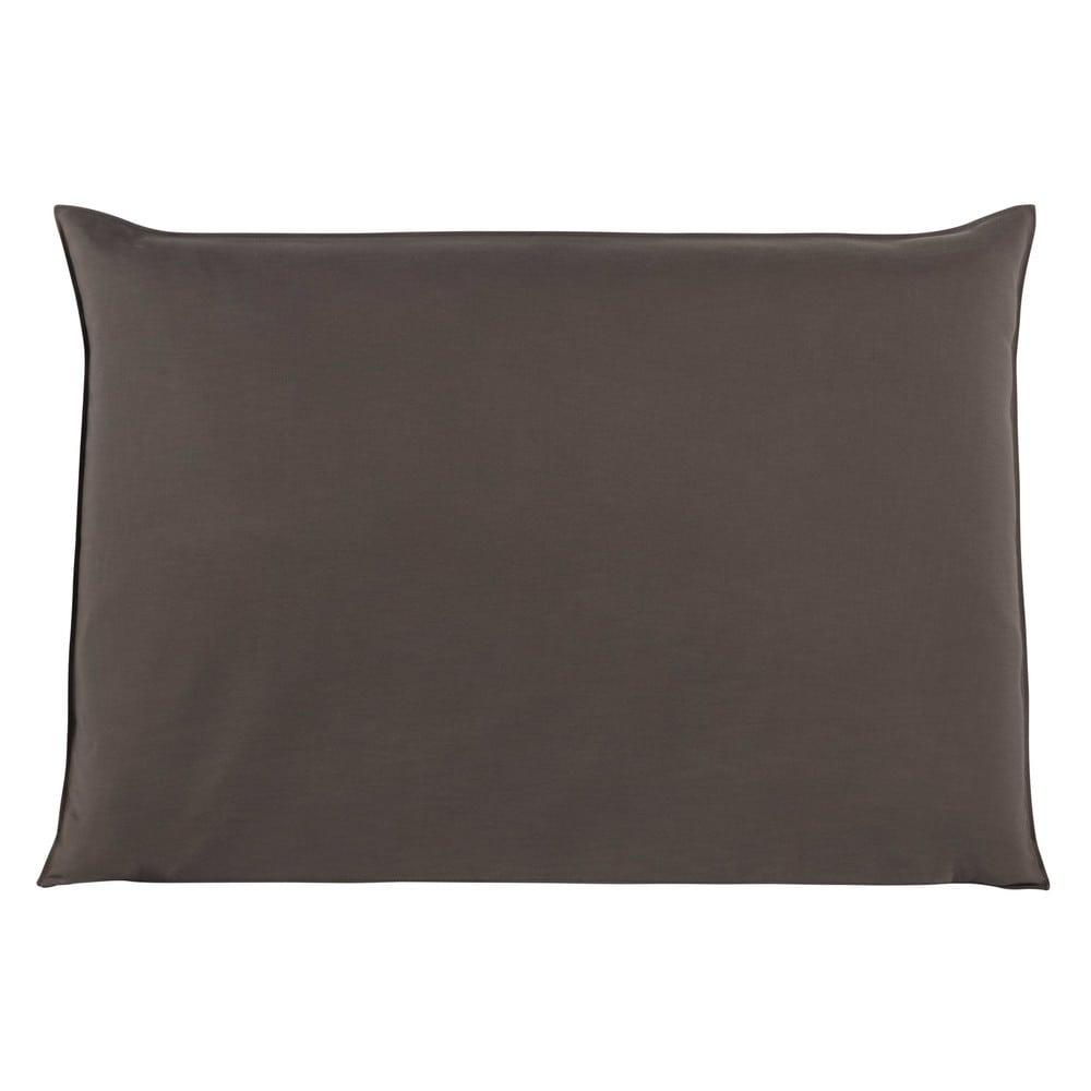 Fodera di testata da letto color talpa 160 cm soft - Fodera testata letto ...