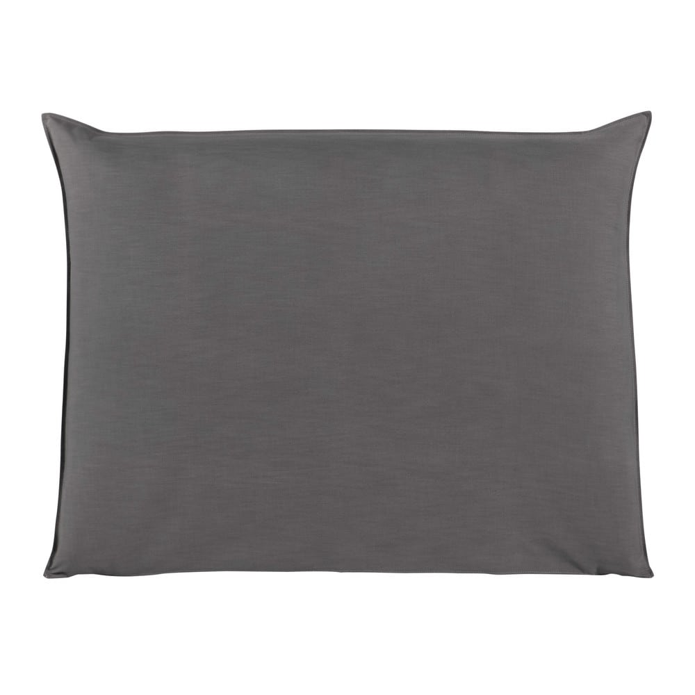 Fodera di testata da letto grigio perla 140 cm soft - Fodera testata letto ...