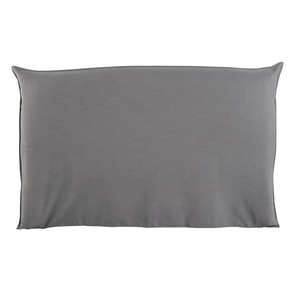 Fodera di testata da letto grigio perla 180 cm soft - Fodera testata letto ...