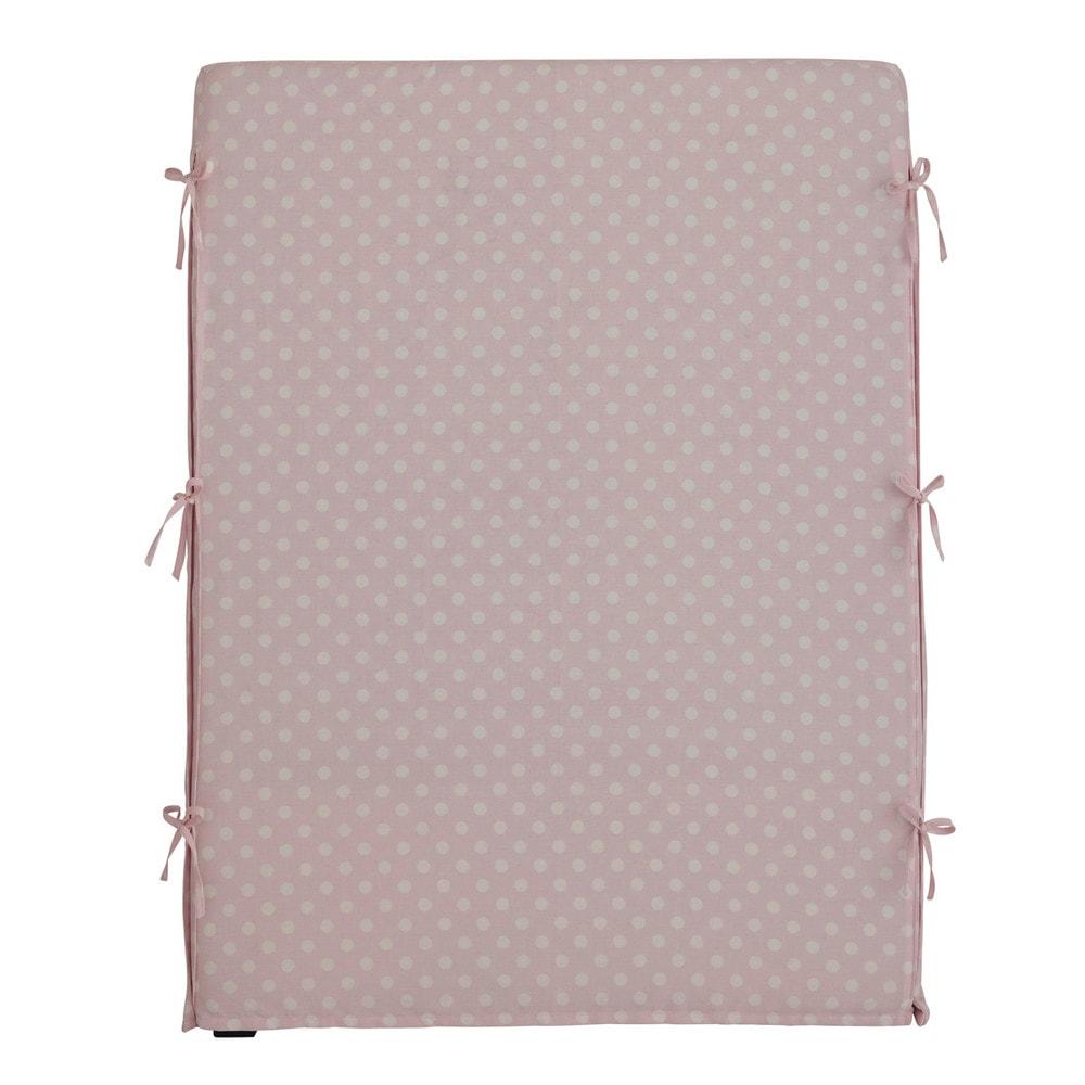Fodera di testata da letto rosa in cotone 90 cm dream - Fodera testata letto ...