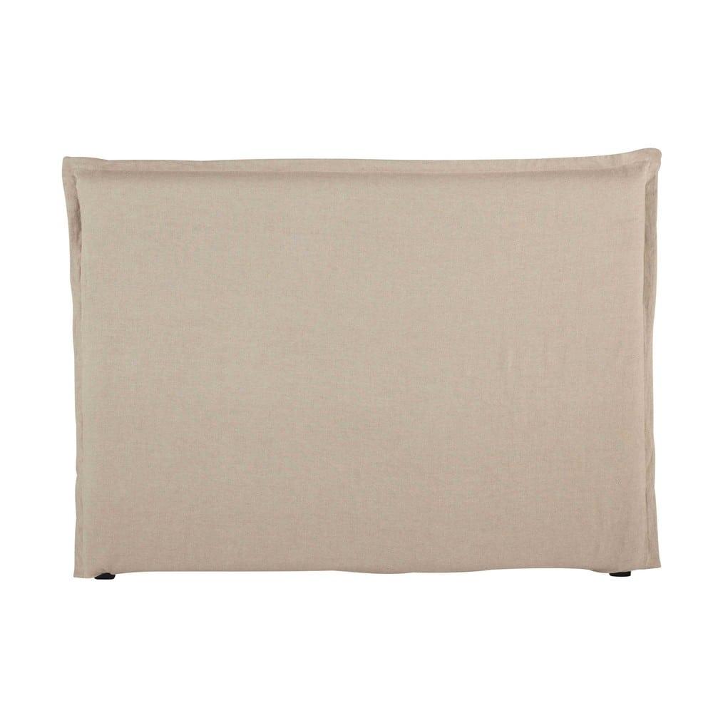 Fodera per testiera del letto 160 in lino lavato morph e - Fodera testata letto ...