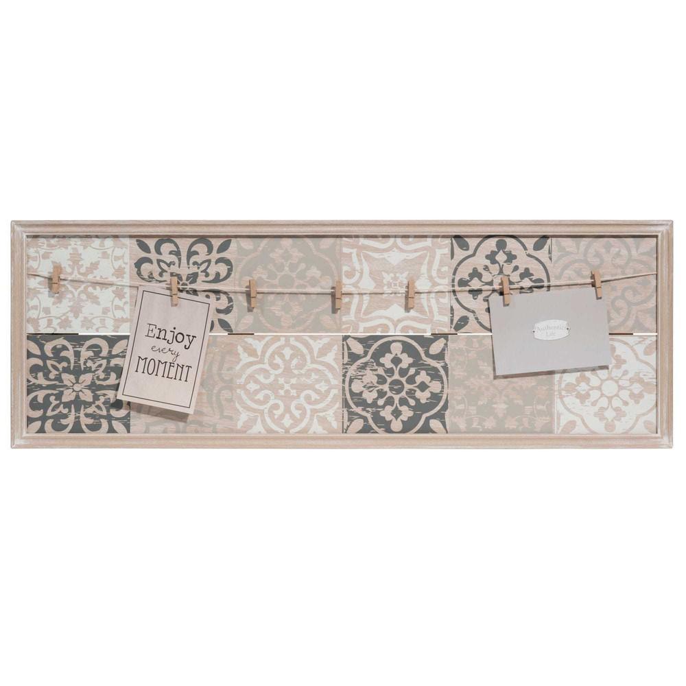 fotorahmen f r mehrere fotos 30 x 87 cm carreaux de ciment. Black Bedroom Furniture Sets. Home Design Ideas