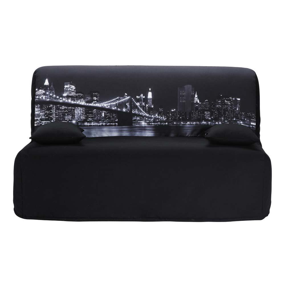 Funda de algod n gris oscuro para sof cama acorde n for Sofa cama acordeon