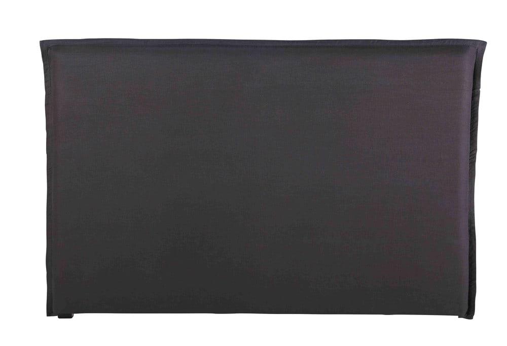 Funda de cabecero 180 cm de lino lavado gris antracita morphÉe ...
