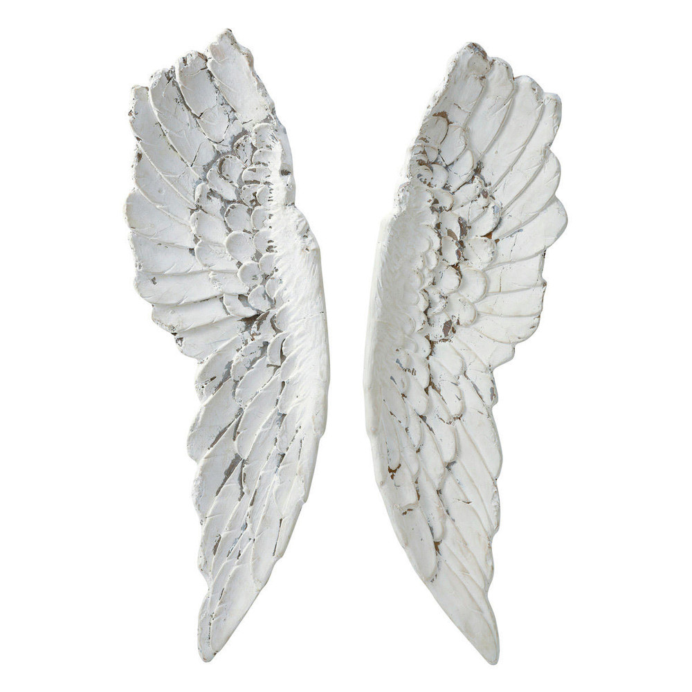 Gabrielle angel wings wall art h 105cm maisons du monde for Angel wings wall decoration