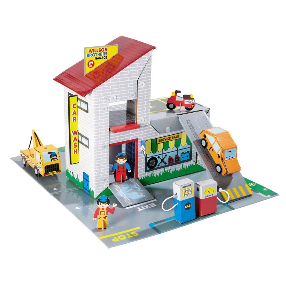 Garage enfant racing maisons du monde for Garage petit noisy