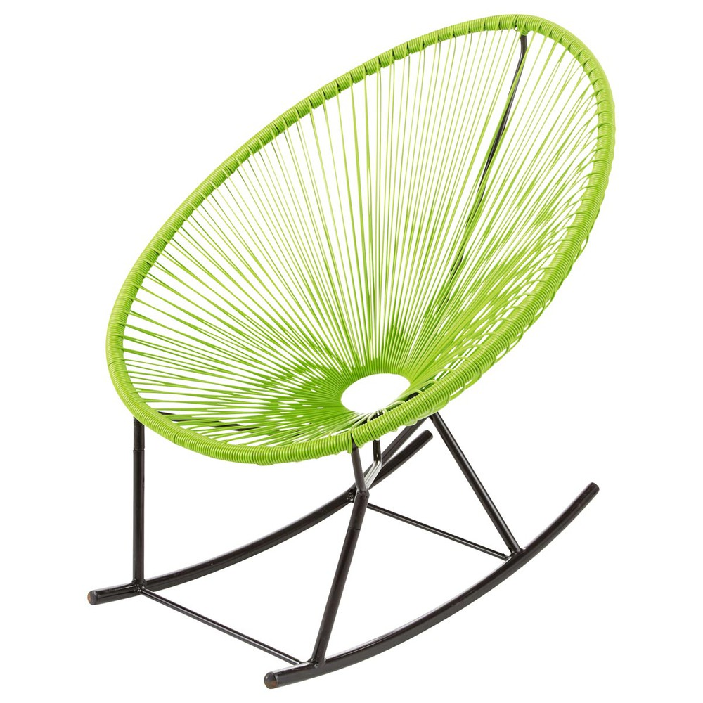 garden rocking chair green copacabana copacabana. Black Bedroom Furniture Sets. Home Design Ideas