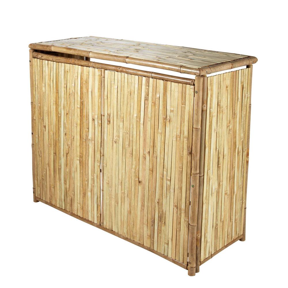 gartenbar aus bambus b 130 cm robinson maisons du monde. Black Bedroom Furniture Sets. Home Design Ideas