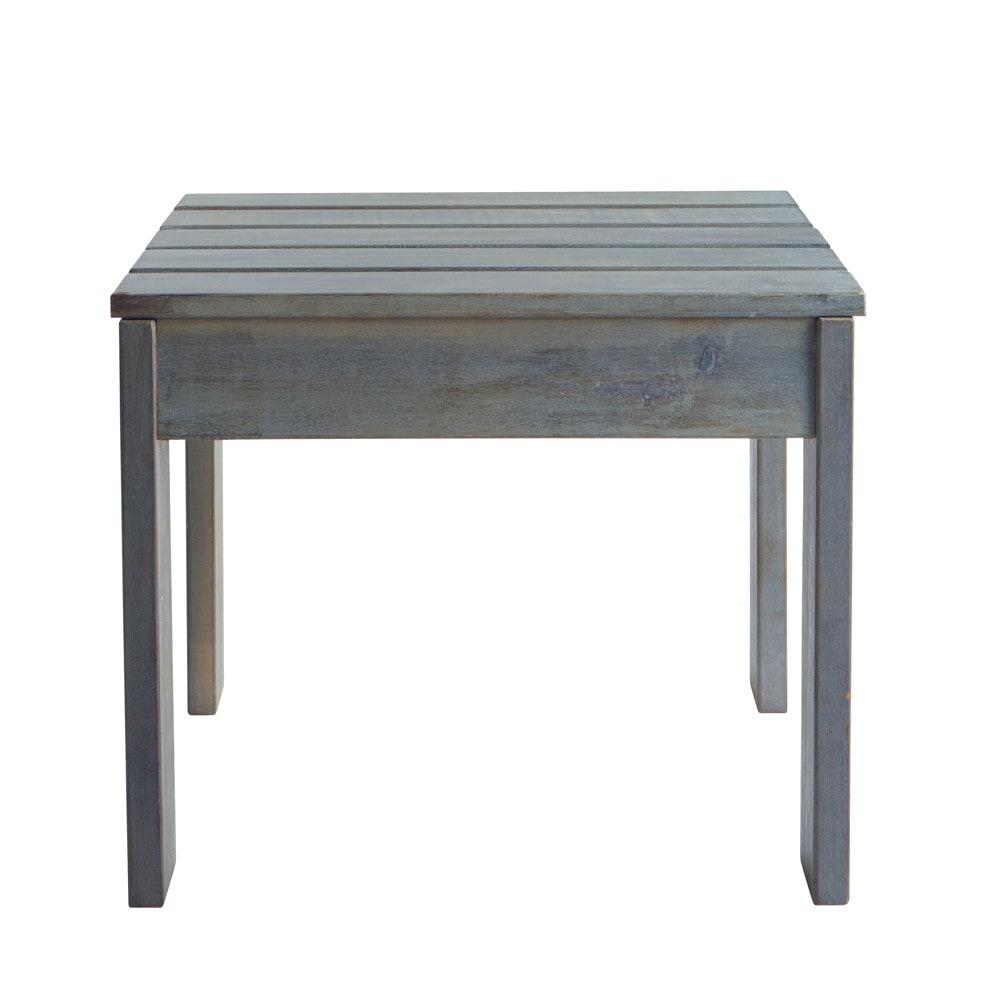 gartentischchen aus akazienholz b 43 cm grau ontario. Black Bedroom Furniture Sets. Home Design Ideas
