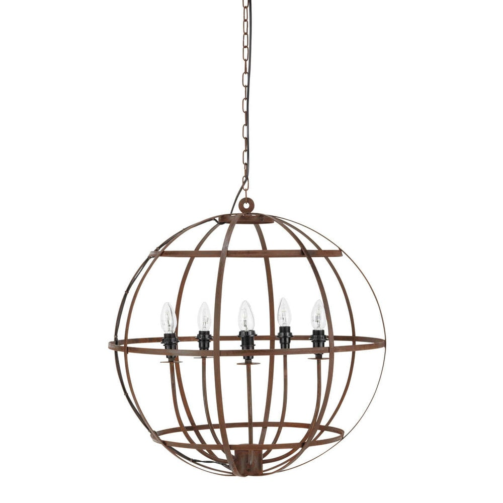 gavres metal chandelier maisons du monde. Black Bedroom Furniture Sets. Home Design Ideas