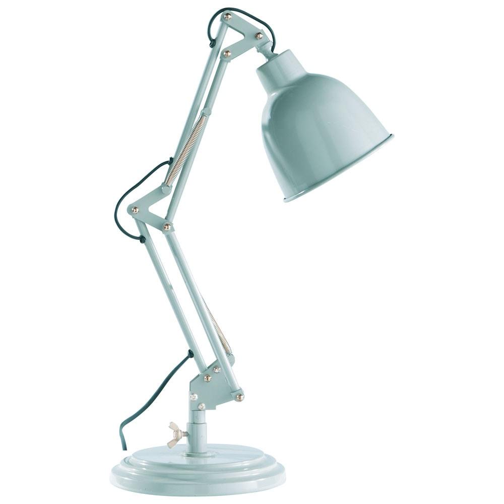 Gelenk schreibtischlampe im industrial stil paterson aus for Lamparas de mesa maison du monde