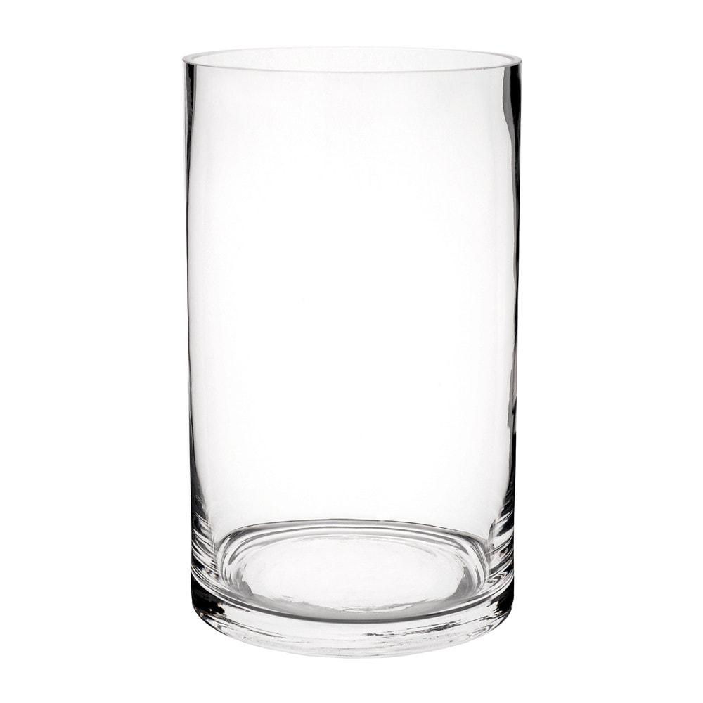 glass cylinder vase h 20cm maisons du monde. Black Bedroom Furniture Sets. Home Design Ideas