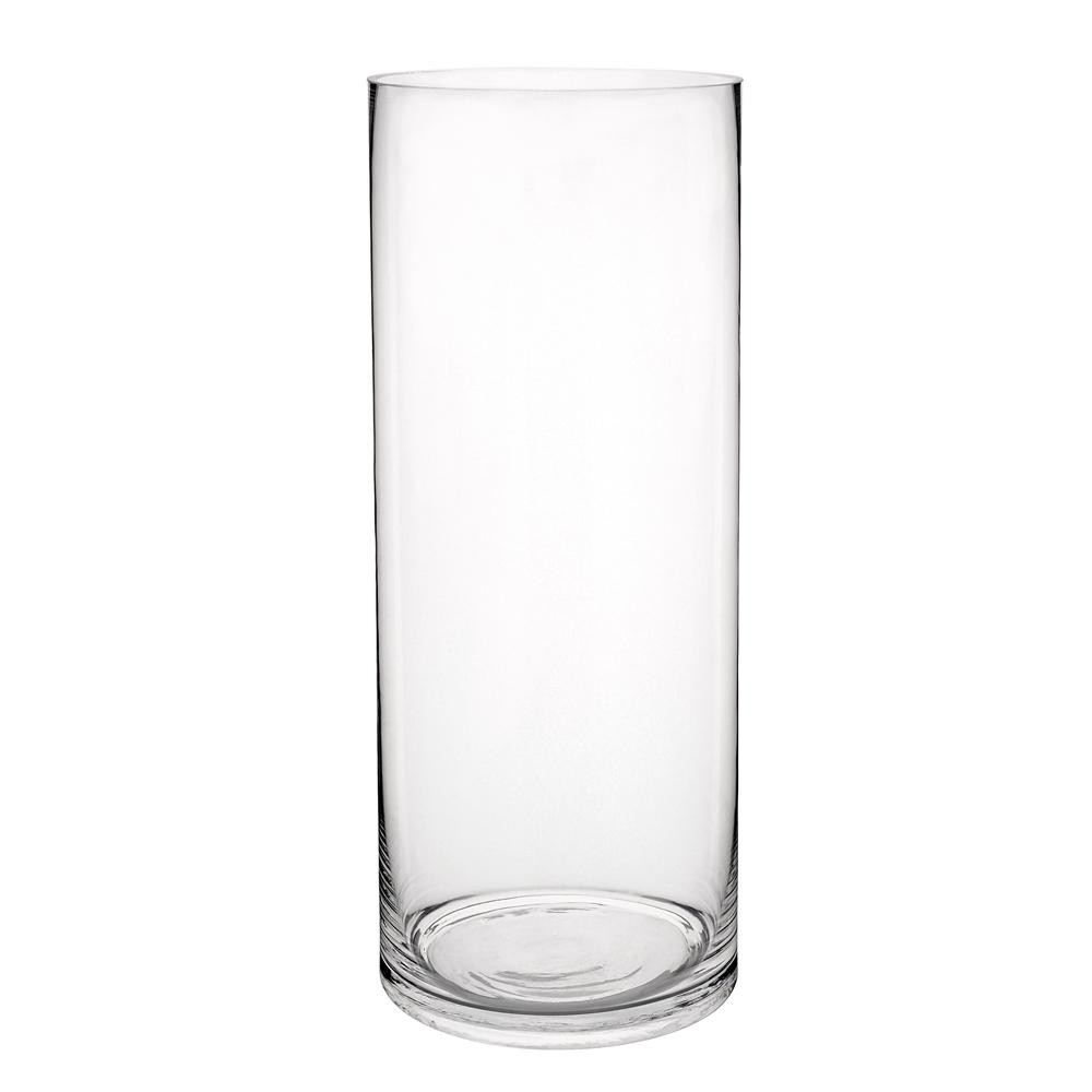 glass cylinder vase h 40cm maisons du monde. Black Bedroom Furniture Sets. Home Design Ideas