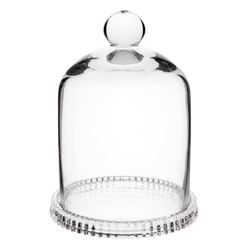 glass mini bell jar h 16cm maisons du monde. Black Bedroom Furniture Sets. Home Design Ideas