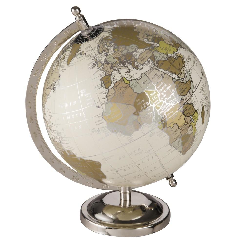 Globe Terrestre Mappemonde Effet Vieilli Maisons Du Monde