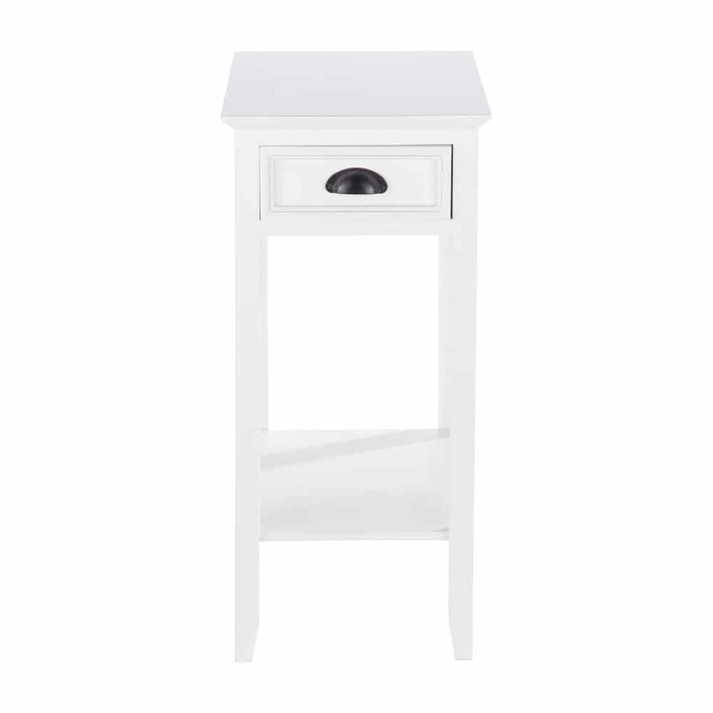gu ridon en bois blanc l 35 cm freeport maisons du monde. Black Bedroom Furniture Sets. Home Design Ideas