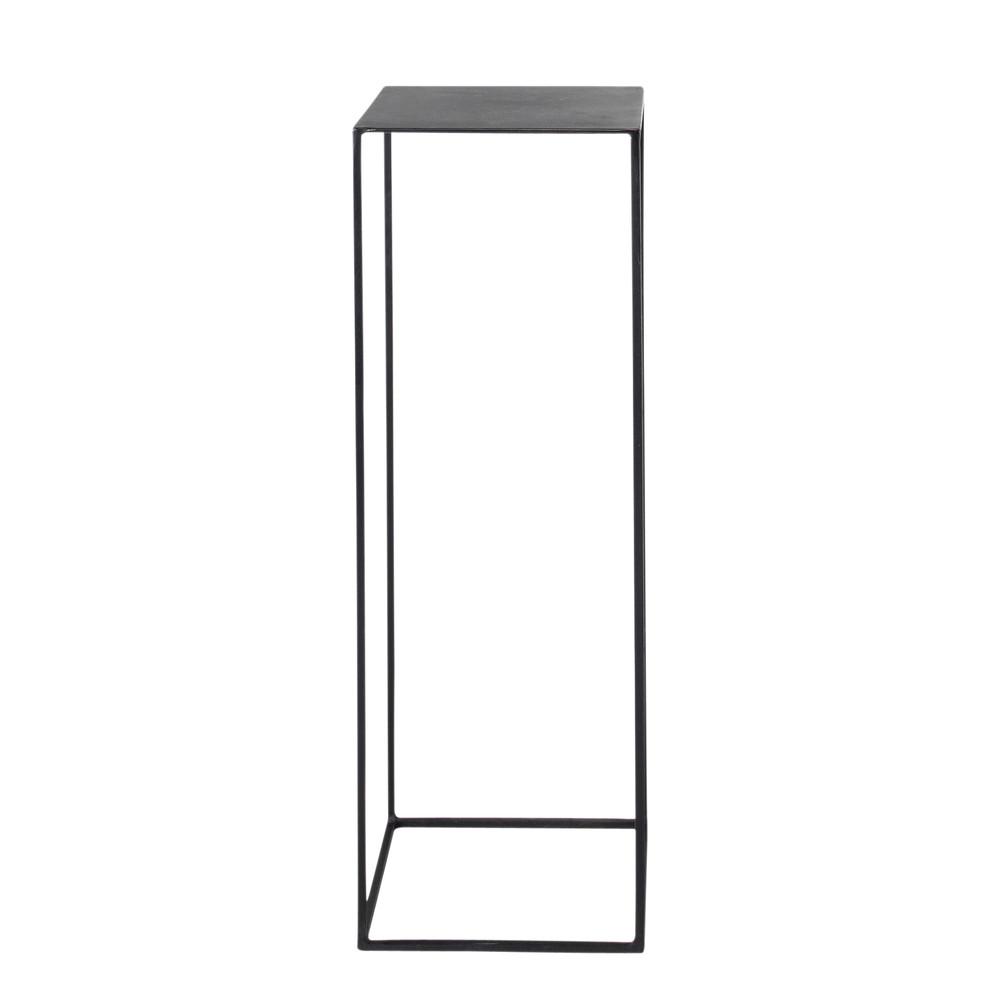 gu ridon indus en m tal noir l 30 cm edison maisons du monde. Black Bedroom Furniture Sets. Home Design Ideas