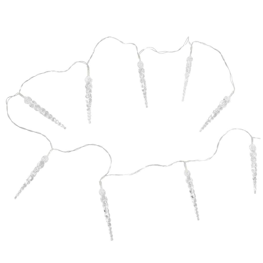 Guirlande lumineuse de no l int rieur ext rieur 4 6 m - Guirlande lumineuse stalactite exterieur ...