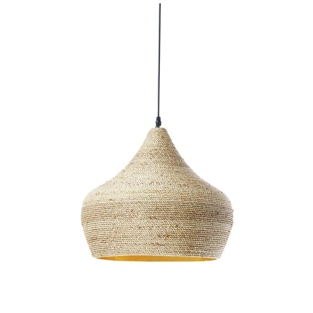 h ngeleuchte im ethno stil ghabou aus hanfgeflecht d 40. Black Bedroom Furniture Sets. Home Design Ideas