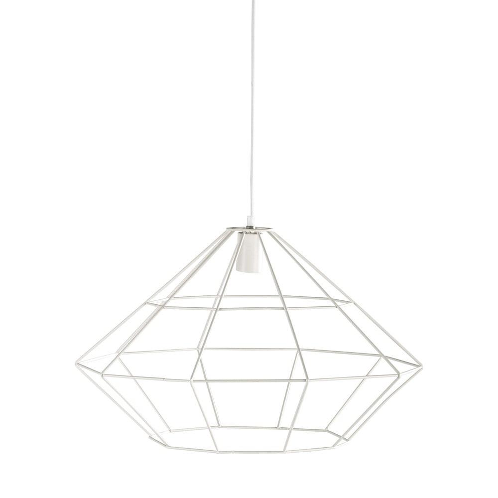 h ngeleuchte origami aus metall d 60 cm wei maisons du monde. Black Bedroom Furniture Sets. Home Design Ideas