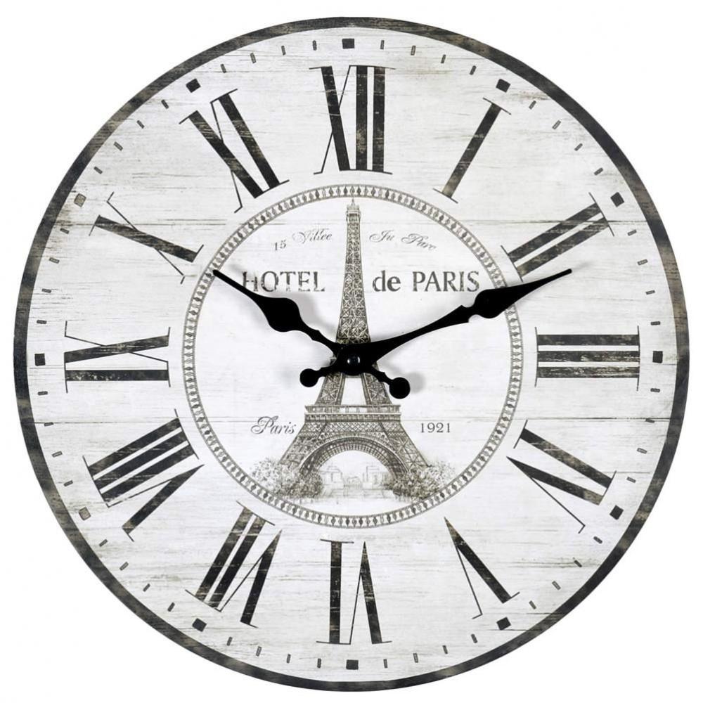 Amazing horloge blanche d cm htel de paris with horloge blanche design for Horloge blanche design