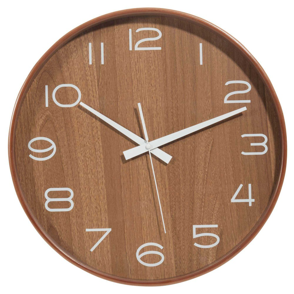 horloge en bois d 40 cm andersen maisons du monde. Black Bedroom Furniture Sets. Home Design Ideas
