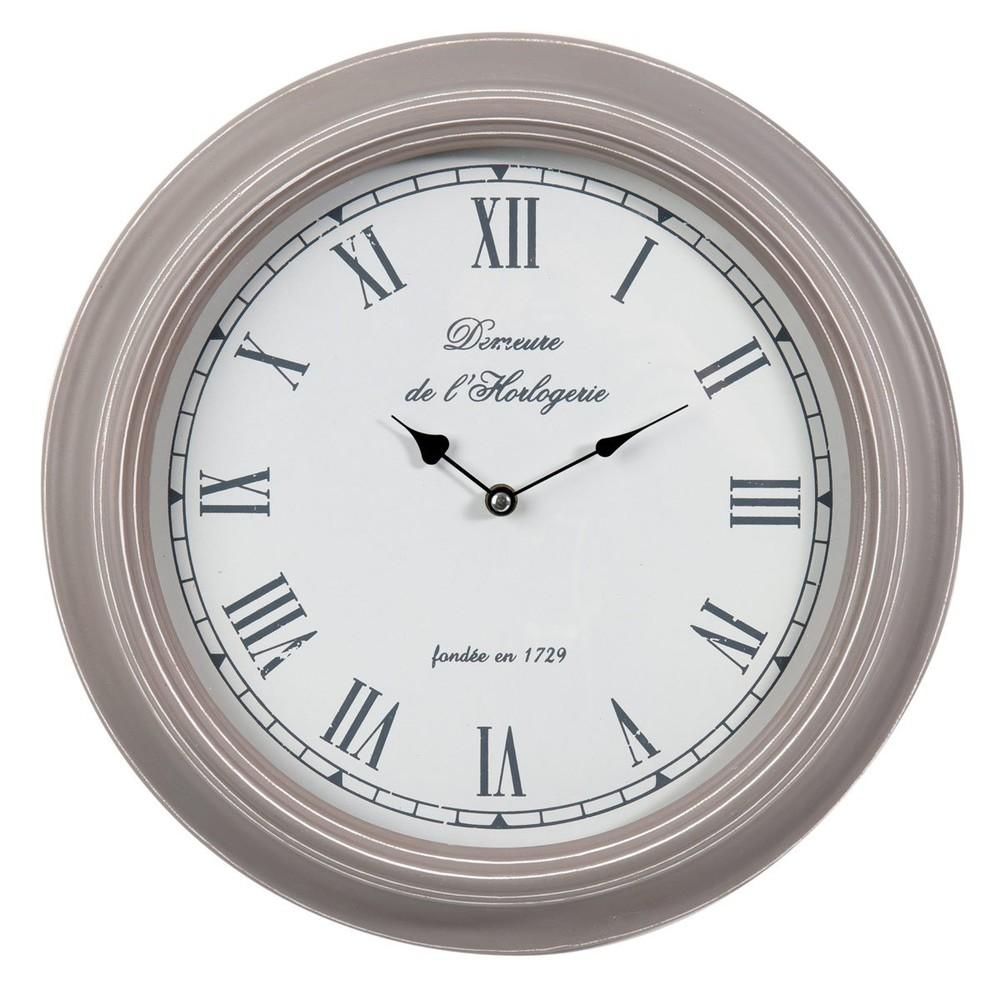 Horloge en bois D 40 cm SÉVIGNÉ  Maisons du Monde ~ Horloge En Bois