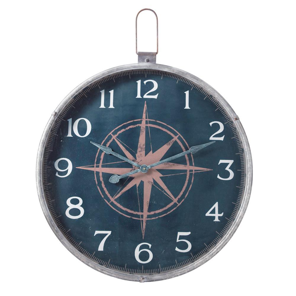 Horloge marin maisons du monde for Horloge maison