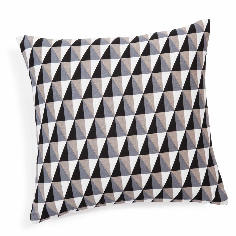 housse de coussin en coton 40 x 40 cm process maisons du. Black Bedroom Furniture Sets. Home Design Ideas