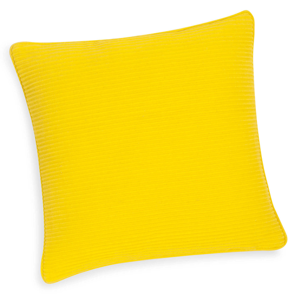 lovely housse de coussin jaune housse de coussin motif gomtrique scandinave jaune with coussin. Black Bedroom Furniture Sets. Home Design Ideas