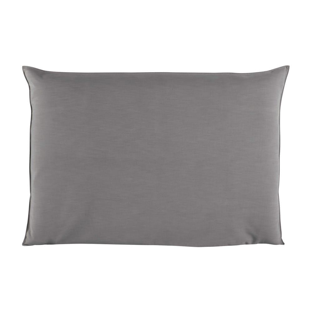 Housse de t te de lit 160 gris perle soft maisons du monde - Tete de lit moderne 160 ...